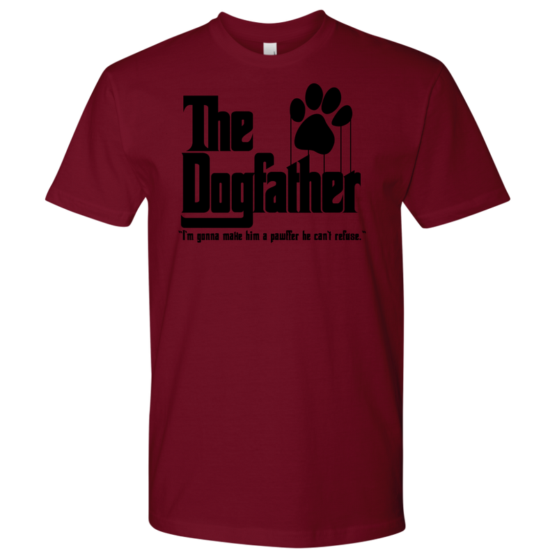 The Dogfather with quote  (7 colors)