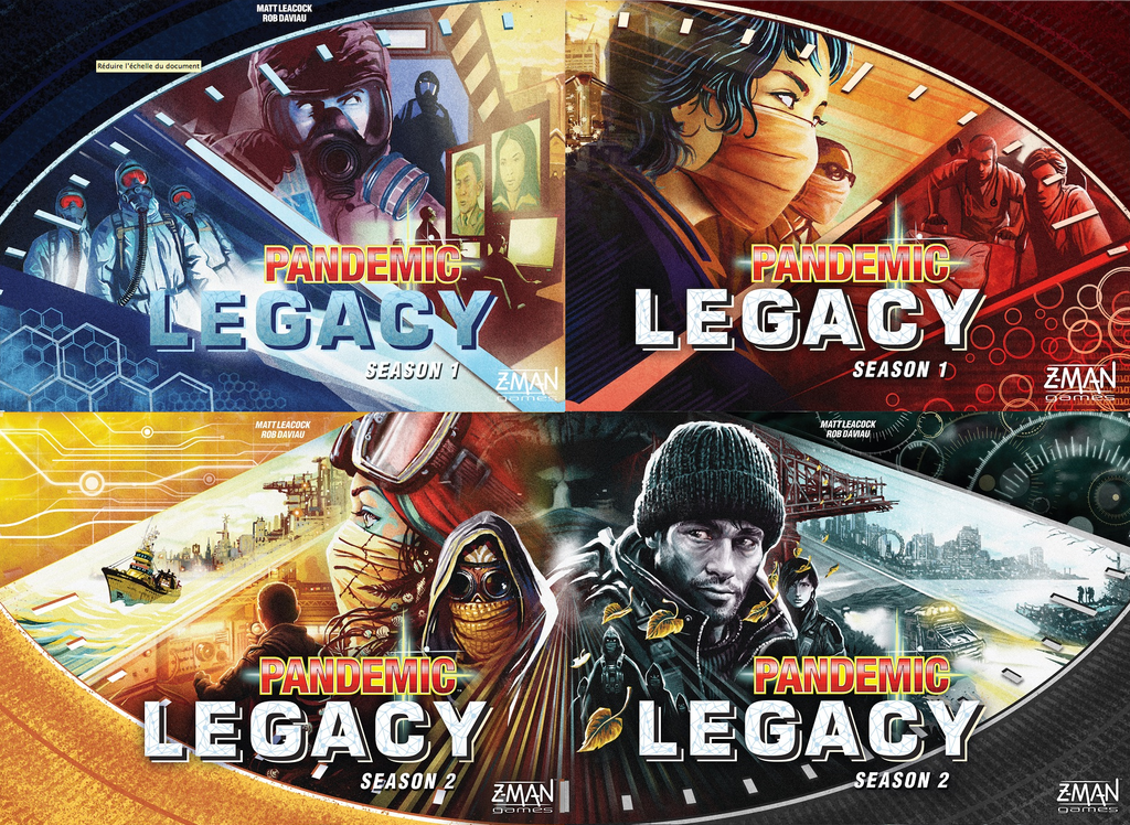 Today's Spotlight: Pandemic Legacy Board Games