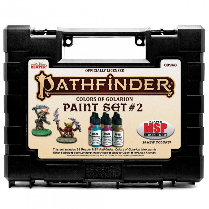 Reaper Complete Set of Pathfinder Paints - Colors of Golarion | Clockwork Games & Events