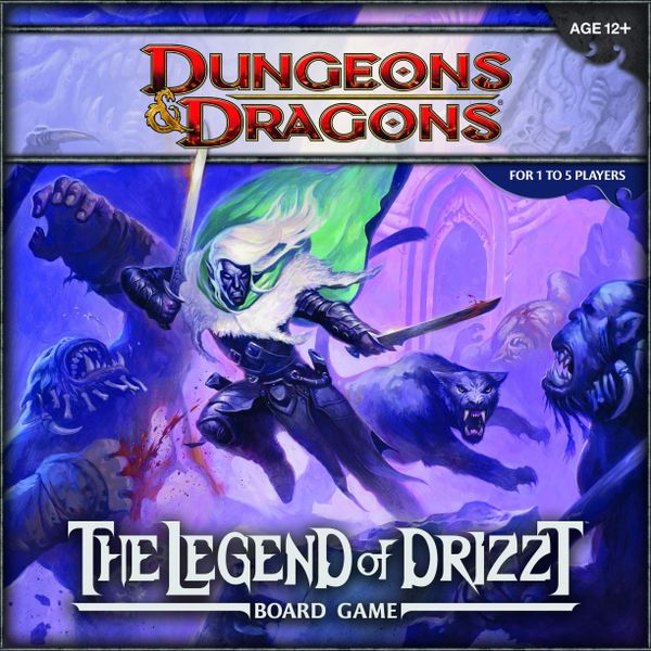 D&D Board Game The Legend of Drizzt | Clockwork Games & Events