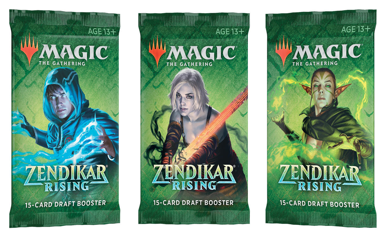 Zendikar Rising DRAFT Booster Pack | Clockwork Games & Events