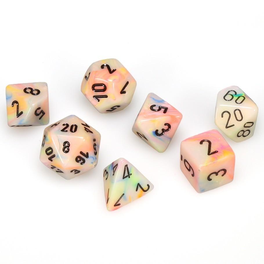 Chessex: Polyhedral Festive™ Dice sets | Clockwork Games & Events