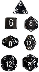Chessex: Translucent Polyhedral Dice Set 7 Set | Clockwork Games & Events