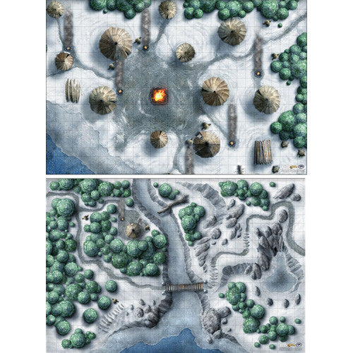 D&D Icewind Dale Map Set | Clockwork Games & Events