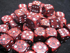 Chessex: D6 Speckled Dice Set - 12mm | Clockwork Games & Events