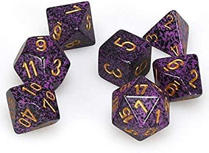 Chessex: Speckled Polyhedral 7 Dice Set | Clockwork Games & Events