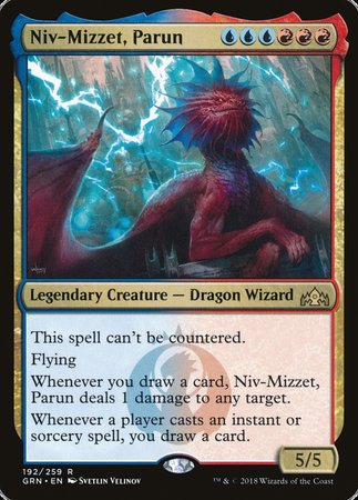 Niv-Mizzet, Parun [Guilds of Ravnica] | Clockwork Games & Events