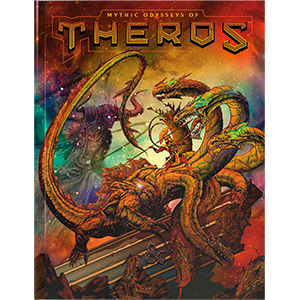 D&D: Mythic Odysseys of Theros Book | Clockwork Games & Events