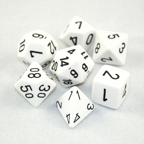 Chessex: Opaque Polyhedral Dice Set | Clockwork Games & Events