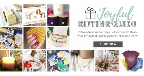 Joyful Gifting Guide - shop small for the holidays