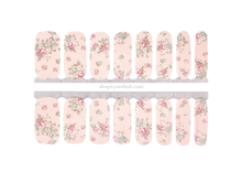 Load image into Gallery viewer, Antique Rose Nail Wrap Set