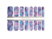 Load image into Gallery viewer, Cotton Candy Nail Wrap Set