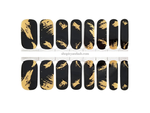 Gilded Nights Nail Wrap Set