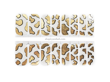 Load image into Gallery viewer, Golden Cow Nail Wrap Set