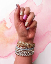 Load image into Gallery viewer, Pink Leopard Nail Wrap Set