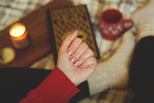 Load image into Gallery viewer, Candy Cane Lane Nail Wrap Set