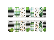 Load image into Gallery viewer, Lucky Leprechaun Nail Wrap Set