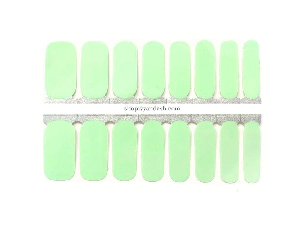 Mint To Be Nail Wrap Set