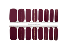 Load image into Gallery viewer, Mulberry Spice Nail Wrap Set