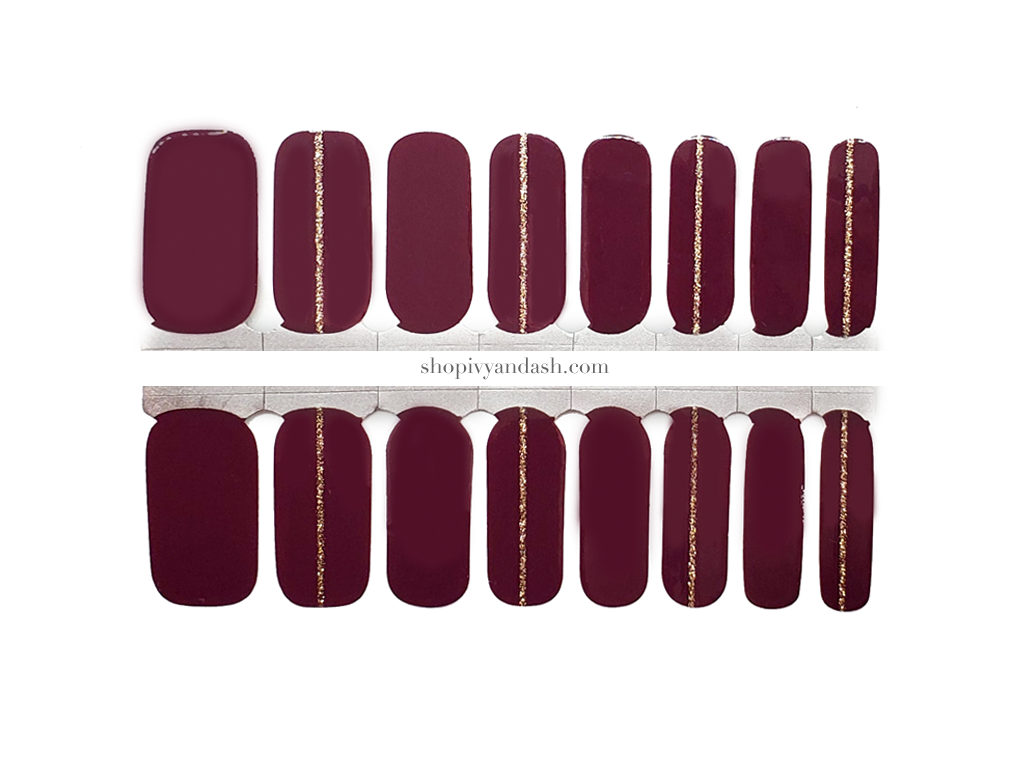 Mulberry Spice Nail Wrap Set