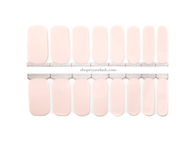 Load image into Gallery viewer, Powder Pink Nail Wrap Set