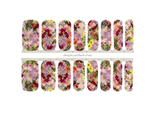 Load image into Gallery viewer, Secret Garden Nail Wrap Set