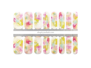 Spring Meadow Nail Wrap Set
