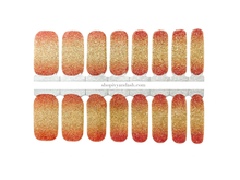 Load image into Gallery viewer, Sunset Chaser Nail Wrap Set