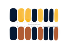 Load image into Gallery viewer, Terracotta Fall Nail Wrap Set