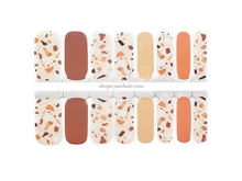 Load image into Gallery viewer, Terracotta Terrazzo Nail Wrap Set
