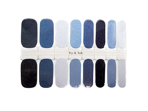Winter Blues Nail Wrap Set - LIMITED EDITION
