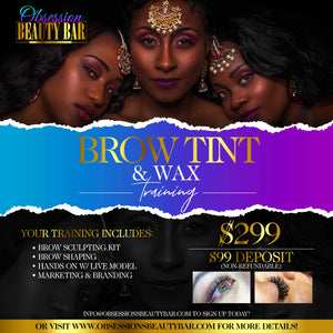 MINK LASH / OMBRE BROW / BROW TINT & WAX | GROUP TRAININGS BUNDLE DEAL