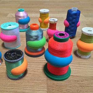 Spool & Bobbin Organizers Multi-Pack (48pcs)