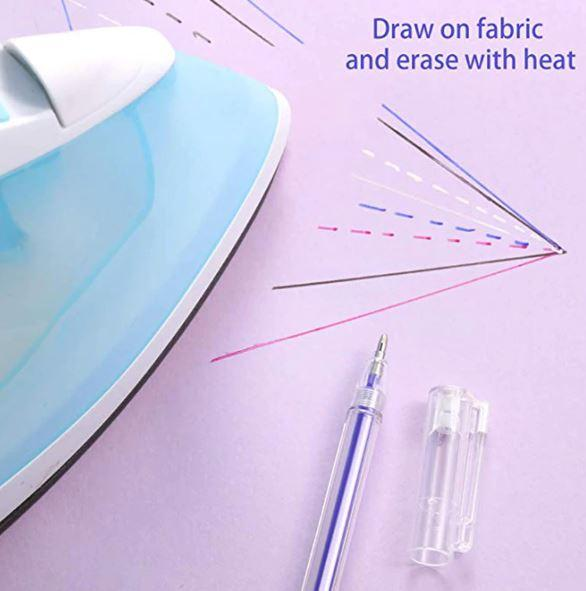 Heat Erasable Fabric Marking Pens