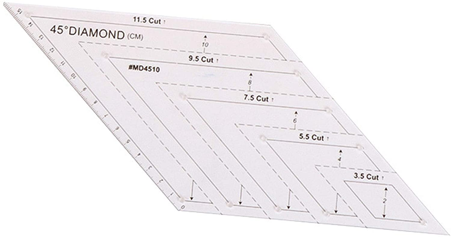 Patchwork Ruler Set (4pcs)