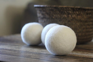 Wool Dryer Balls - 6pcs