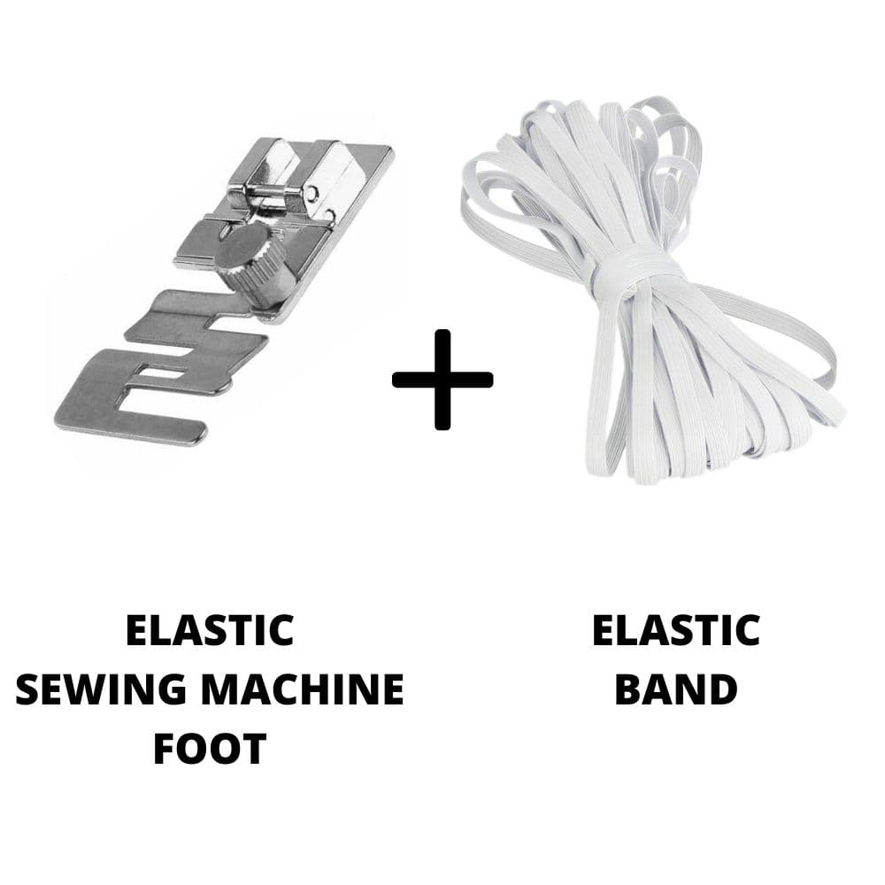 Love Sew Elastic Sewing Machine Foot (With Elastic)