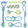 Dog Toy Pack for Small Medium Dogs Pet Chew Toy for Large Dogs Interactive Toy Dog Rope Ball for Training Playing Toy for Pets