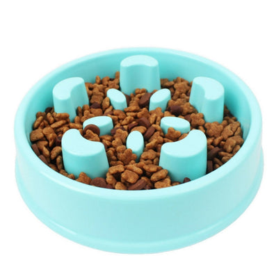 Pets Feeder Dog Bowl Slow Eating Bloat Stop Food Plate Maze Interactive Puzzle Cat Anti Skid Dishes Tray Home Pet Accessories