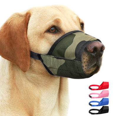 Small Large Dog Muzzle Anti Bite Dogs Muzzles Pet Mouth Cover Training Products Anti Chew Bark For Pitbull Pet Accessories