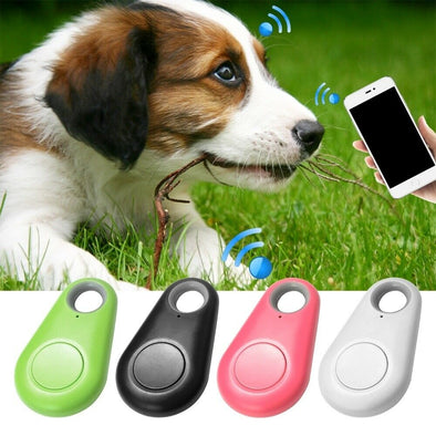 Smart Mini Pets GPS Tracker Anti-Lost Waterproof Bluetooth Tracer for Pet Dog Cat Keys Wallet Bag Kids Trackers Finder Equipment