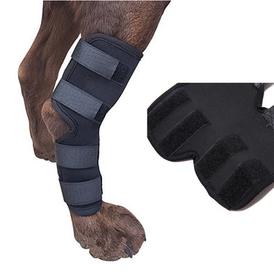 Transer Dog Bandage Protecter Extra Supportive Canine Rear Leg Hock Joint Wrap Protects Wounds Cloth Dogs Accessories P40