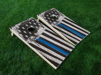 Discount Cornhole Thin Blue Line Cornhole Boards - Discount Cornhole