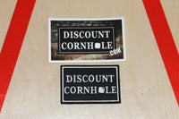 Discount Cornhole Patch & Sticker Package - Discount Cornhole
