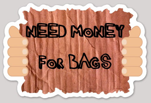 Money For Bags Cornhole Sticker - Discount Cornhole