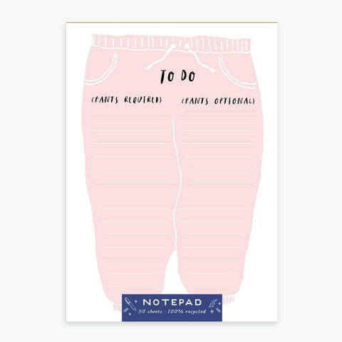 Pants Notepad