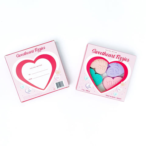 Valentine Sweetheart Bath Fizzies
