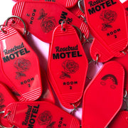 Rosebud Motel Schitts Creek Keychain