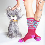 My Cat Says You're Dumb Gym Socks