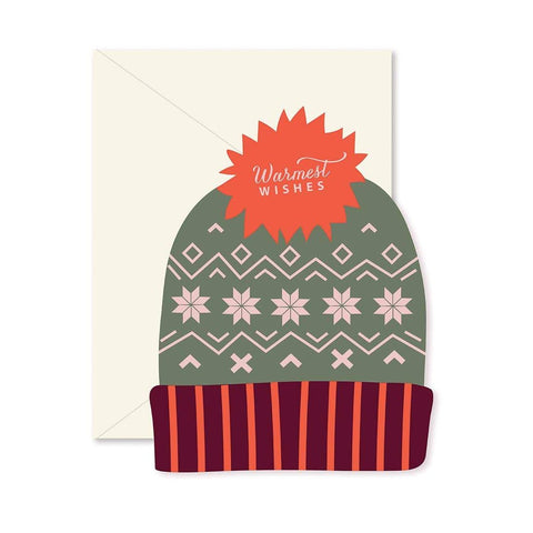 Warmest Wishes Hat Card